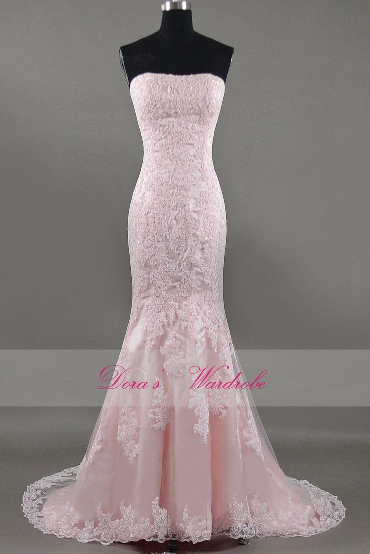25  best ideas about Light pink wedding dress on Pinterest | Tulle ...