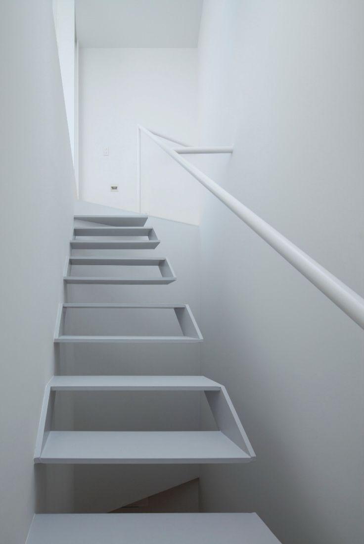 Die besten 25+ Schwebende treppe Ideen auf Pinterest   modernes ...