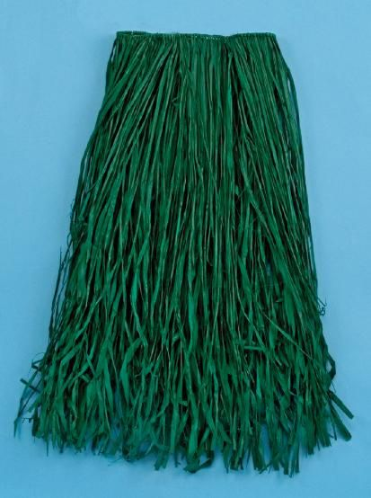 This Natural Green Raffia Grass Adult Hula Skirt is perfect for a luau or tropical themed party. The green raffia grass hula skirt features authentic raffia material in a green color. This raffia grass adult size hula skirt includes hula instructions and measures 31in. W x 28in. L.