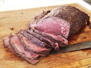 "Grill-Roasted Whole Bison Boneless Rib Roast   Serious Eats: Recipes - Mobile Beta!"""