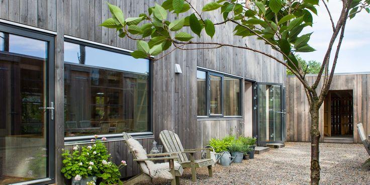Norwegian atrium house
