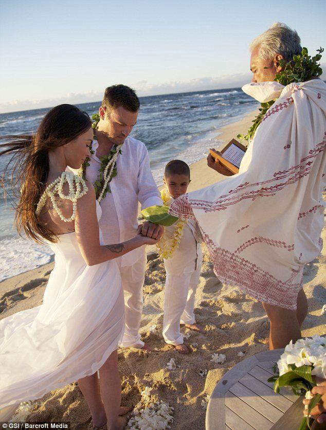 Megan Fox's Hawaiian wedding