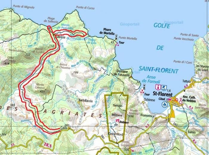 Corsica Map Of Beach Saleccia The Must Go To Beach Middle East