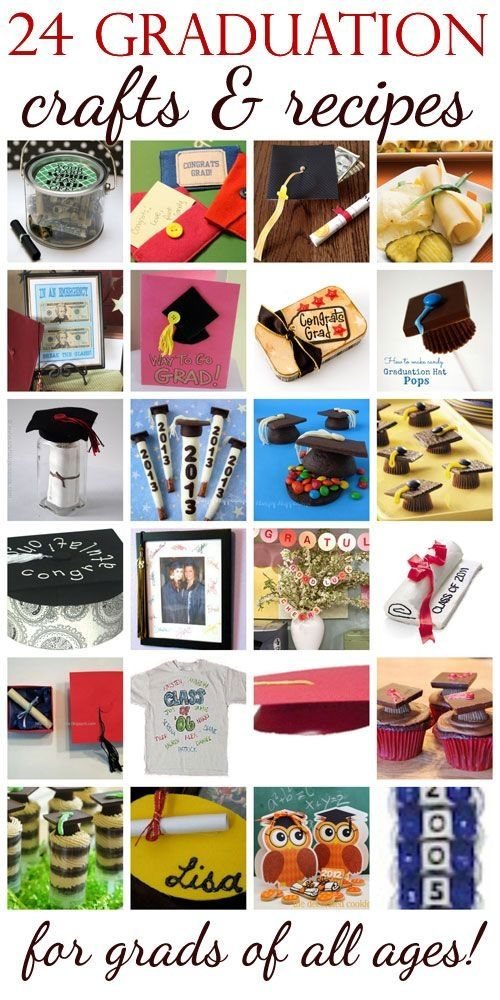 24 Graduation Crafts & Recipes for Grads of All Ages by Amanda Formaro for FamilyCorner.com by Vivian Flissi's Flair Belk