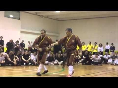 Budo Masters 2016 Weng Chun Kung Fu demonstration