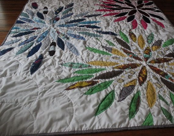 """Custom Memory Quilt using baby clothes or old keepsake clothing (50"""" x 60"""" Large Throw)"""