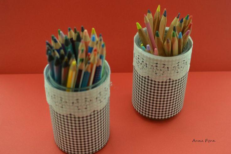 DIY Stiftehalter - pencil holder - portapenne
