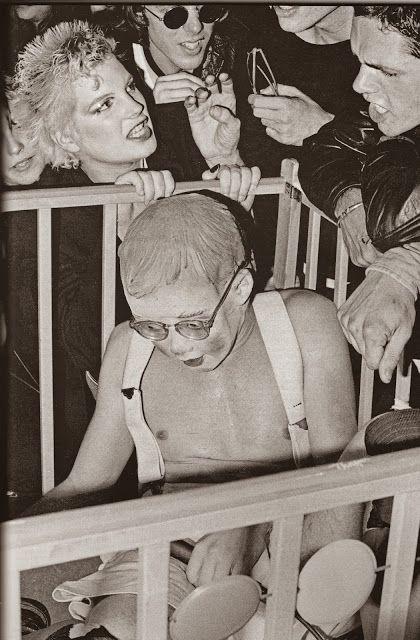 Mark Mothersbaugh (Devo) as Booji Boy Mabuhay Gardens San Fransisco 1977
