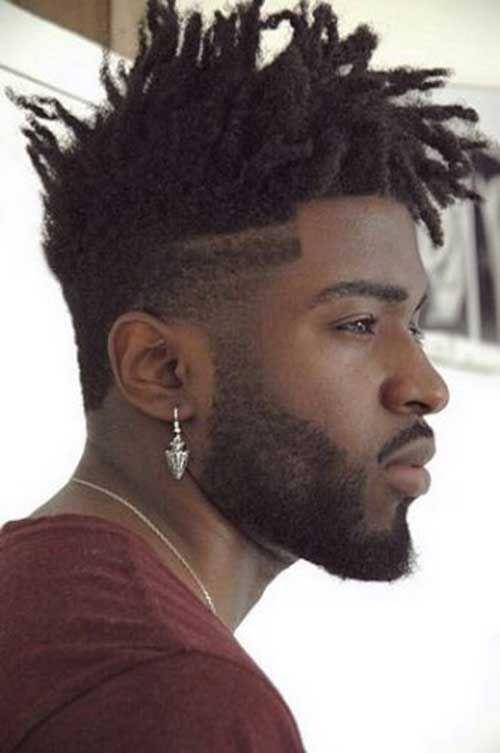 fade cortes de pelo para los hombres negro