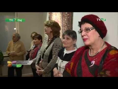 Transilvania Policromă, TVR 3_TVR Cluj - vernisaj expoziție covoare orie...