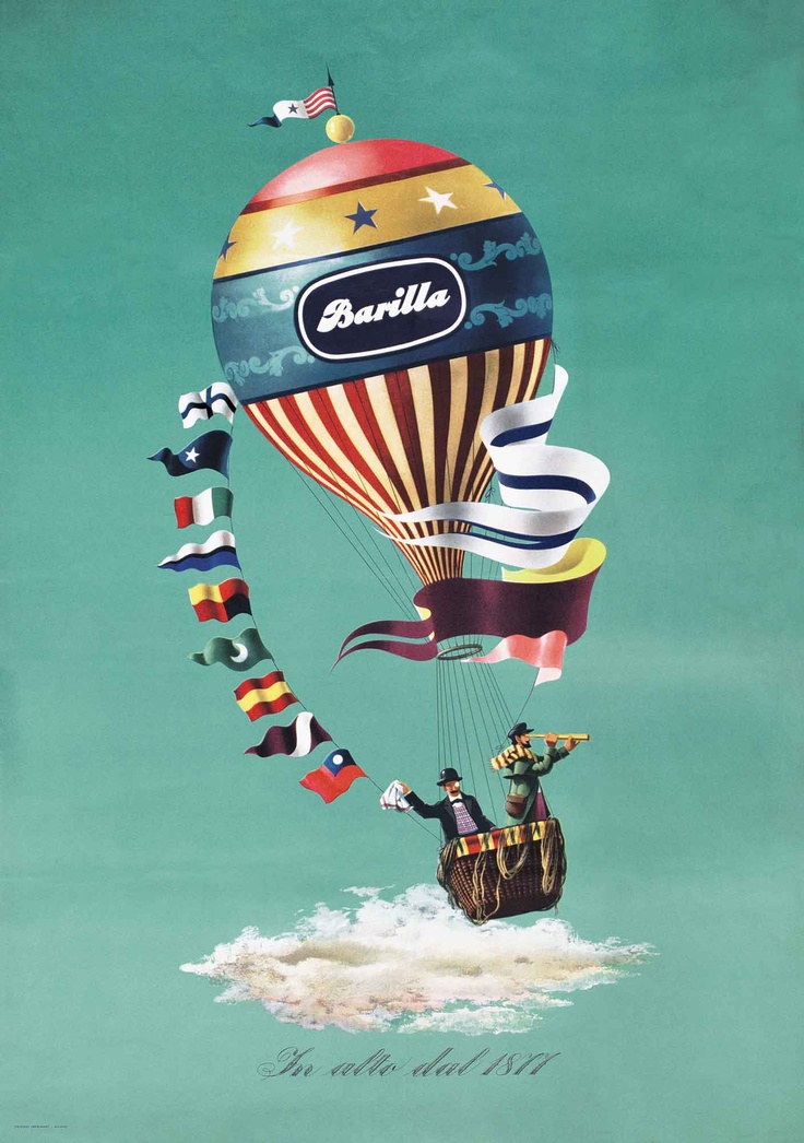 Barilla poster from 1947
