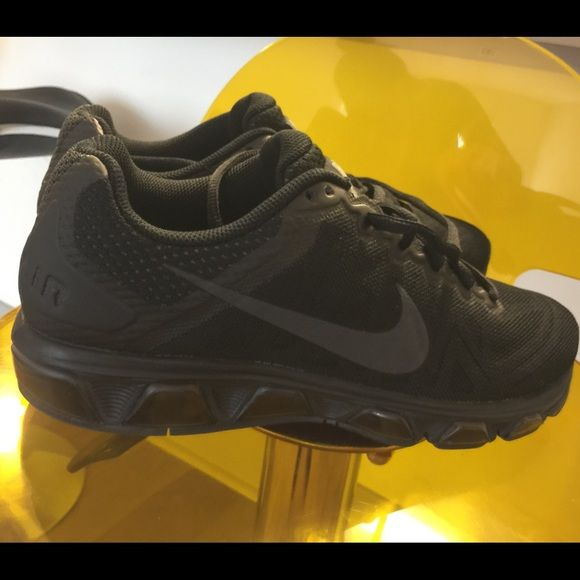 Black Nike Air Tailwind! Black Nike Air Tailwind sneakers. Womens size 9.5 barely worn! Nike Shoes Sneakers