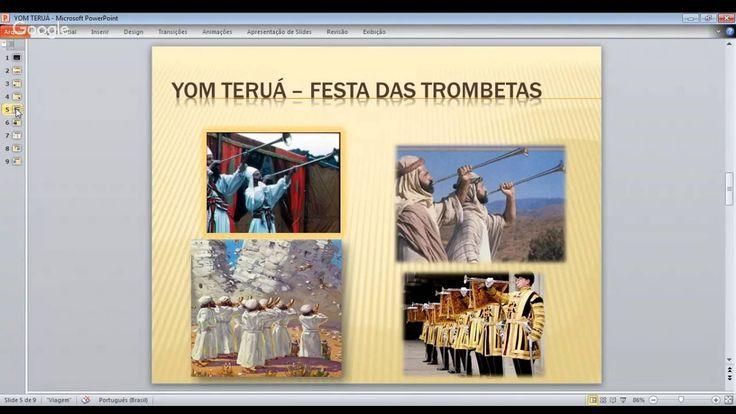FESTA DAS TROMBETAS - YOM TERUÁ NO APOCALIPSE