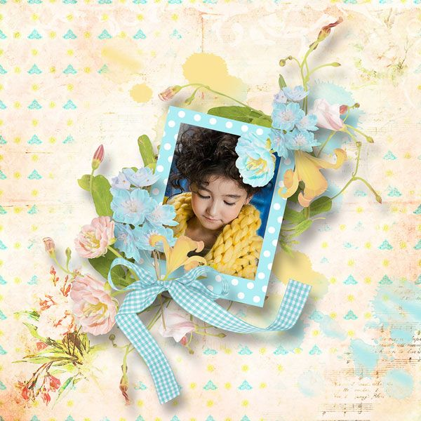 """FREEBIE mini kit  """"flowers o KINDness"""" by DitaB Designs   Collect 28 Coordinating Freebies from the PBP Team!   https://pickleberrypop.com/forum/forum/news/pbp-designer-freebies/222642-collect-28-coordinating-freebies-from-the-pbp-team  photo Anastasia Serdyukova use with permission"""