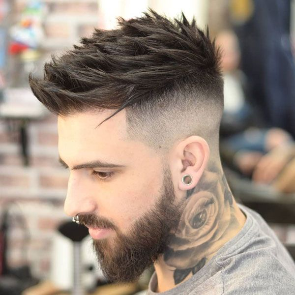 Blended Fade Haircut For Men Mens Haircuts Fade Thick Hair Styles Long Hair Styles Men