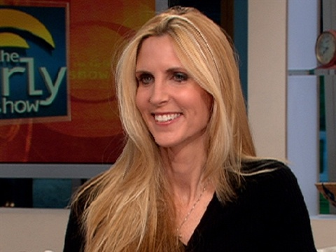 An inspiration to... PSYCH! Ann Coulter goes in my Hall of SHAME. Political opinions that differ from mine are all fine and good, but Ms. Coulter, you're just a big meanie.