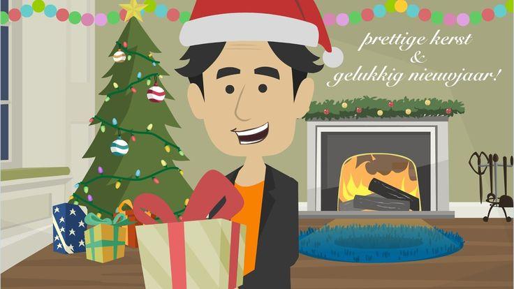 Heb je zin? 'Merry Christmas and happy new year!' in Dutch = 'Prettige kerst en gelukkig nieuwjaar!'