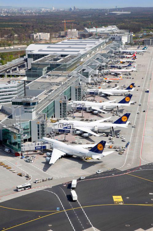 TERMINAL 2 | FRANKFURT AIRPORT | FRANKFURT | GERMANY: *FRA; 2 Passenger Terminals; 4 Runways*