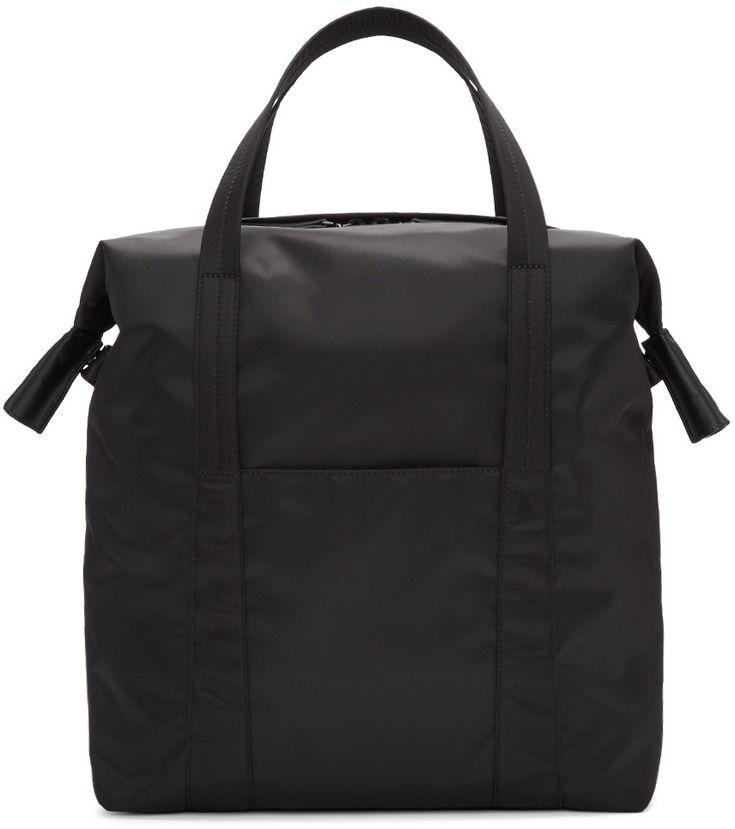 Maison Margiela - Black Nylon Tote Bag