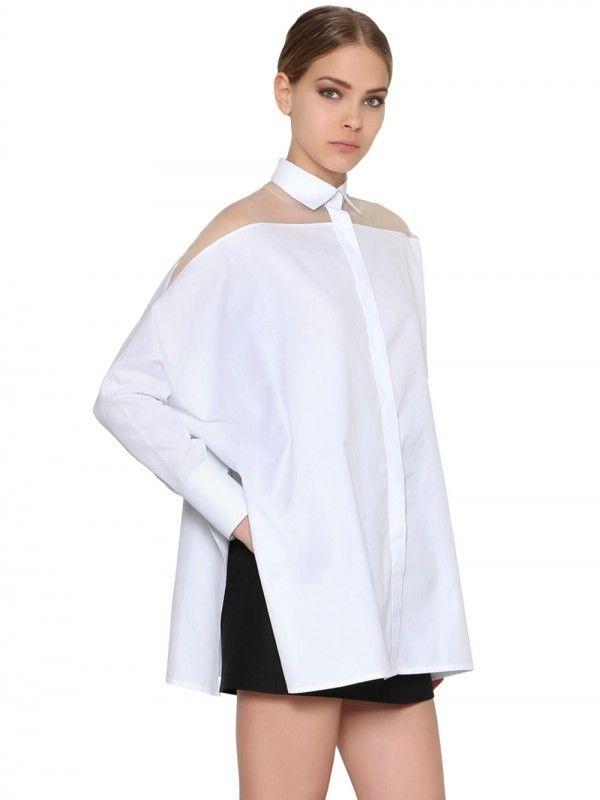 valentino-cotton-poplin-silk-organza-shirt-1