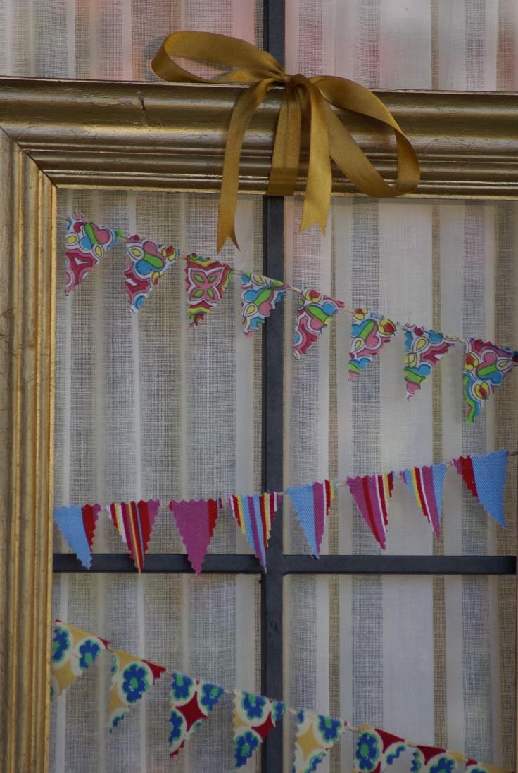 Cuadro banderines