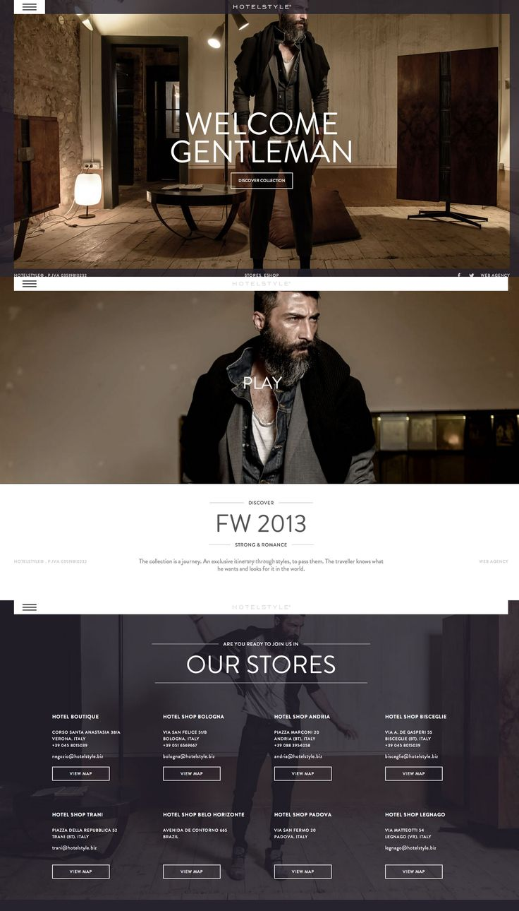 Hotelstyle, 22 August 2013. http://www.awwwards.com/web-design-awards/hotelstyle   #Fashion #jQuery #ResponsiveDesign #CSS3 #Fullscreen# HTML5 #Parallax