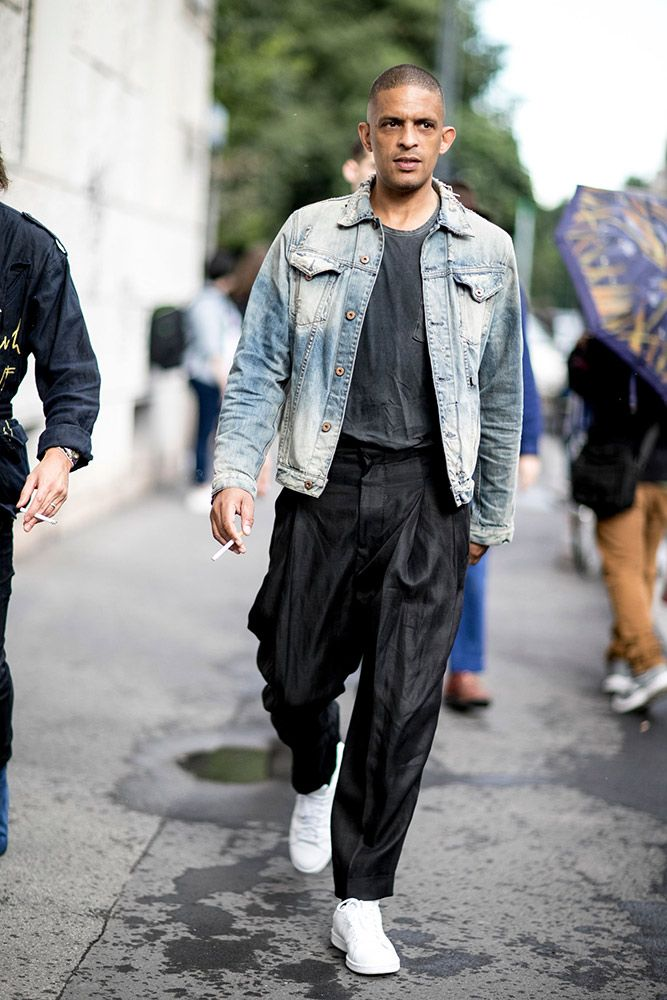 Street Style Milan Men 39 S Fashion Week Spring 2017 Inspiration