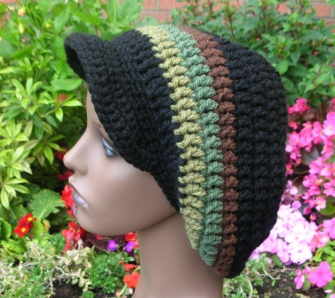 Knitting Patterns For Rasta Hats : 17 Best images about Womens fashion on Pinterest Kimonos, Crochet hat ...
