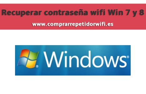 Recuperar contraseña wifi desde Windows 7 y 8 http://comprarrepetidorwifi.es/recuperar-contrasena-wifi-windows-7-8/