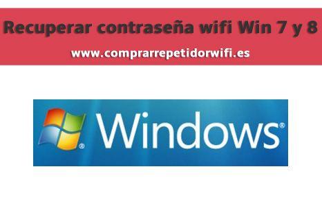 Recuperar contraseña wifi desde Windows 7 y 8 http://comprarrepetidorwifi.es/recuperar-contrasena-wifi-windows-7-8/