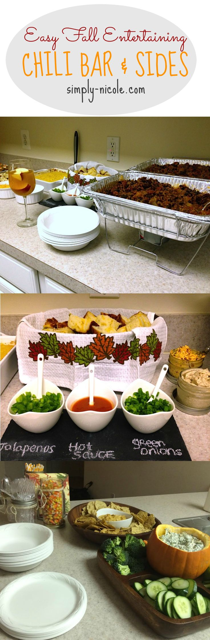 Easy Fall Entertaining at simply-nicole.com