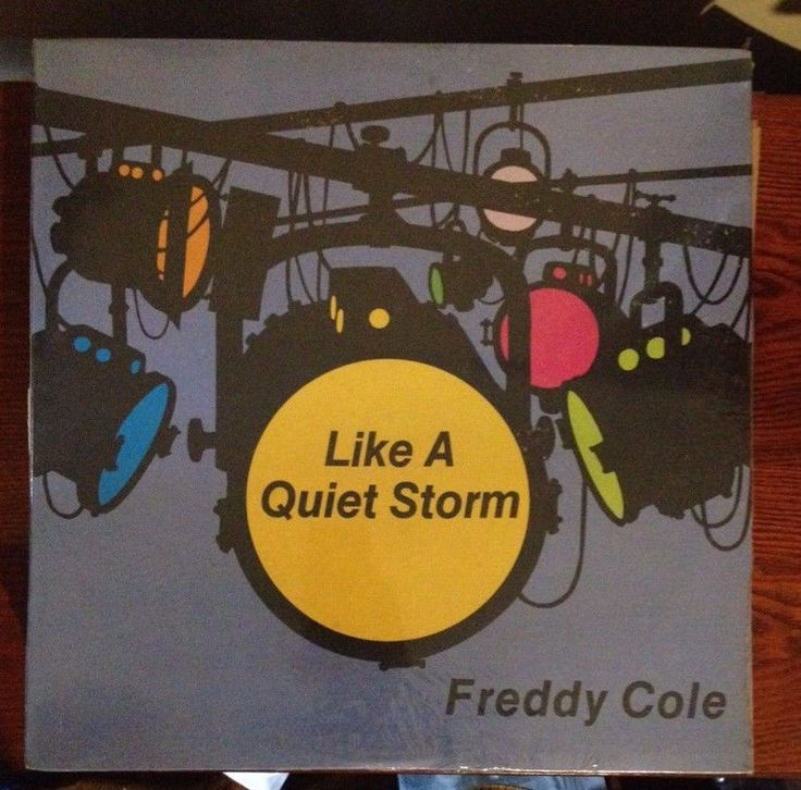 FREDDY COLE ‎Like A Quiet Storm MINT Unopened Vinyl LP 33rpm #ClassicRBFunkQuietStormSoul