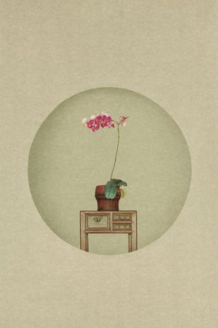 Sun Jun - Photography of New Literati painting - Small flower