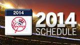 2014 Schedule - My Favorite: Derek Jeter