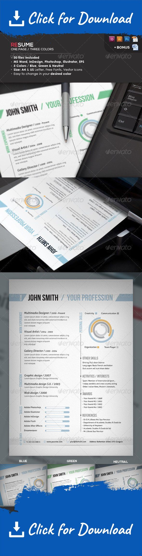monster resume format%0A Ready One Page Resume   CV