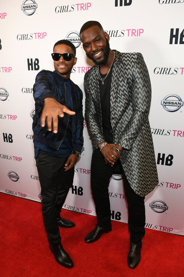 Larenz Tate and Kofi Siriboe - Celebrity Photos of the Week: ESSENCE Festival 2017 Edition