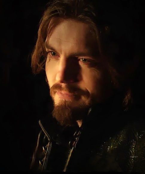 Tom Burke as Athos in the BBC's Musketeers. Credit to frompella on tumblr
