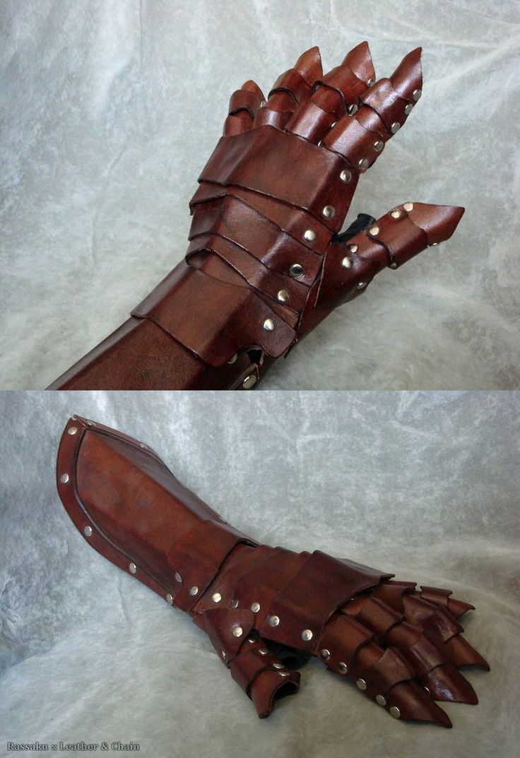 Leather work gloves made in the usa - Made This Ages Ago Hard To Take Good Pictures Of It Built Over A Leather Glove Made For Japanese Women Which I Am Not But It Still Fits No One But Me