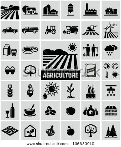 Iconos de Agricultura