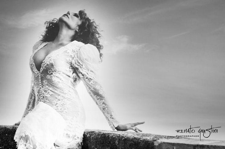 Chiara Pavoni bw by Renato Giustini photographer Passion