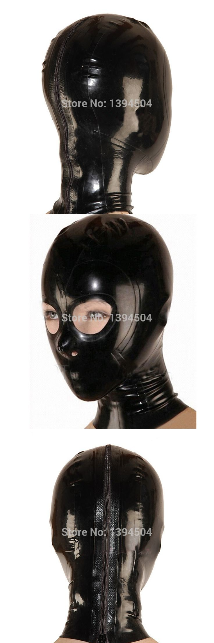New Sale Bodysuit Bodystocking Body Stocking Sexy Latex Hoods Mask Open Monochrome Common Hood Free Shipping Fast Delivery