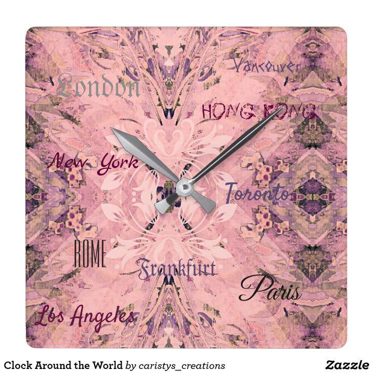 Clock Around the World