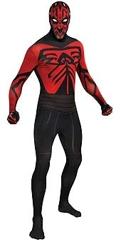 Buy online your Star Wars Darth Maul 2nd Skin Suit Adult Costume from Costume Direct, Australia's largest costume store! Costume shop in Sydney, with a huge range of Star Wars costumes, Jedi costumes, Halloween costumes! Fast shipping so buy costumes online today!