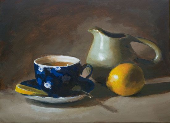 painting with acrylic easy pictures | How to paint a still life with acrylics // great website with art tutorial videos and articles