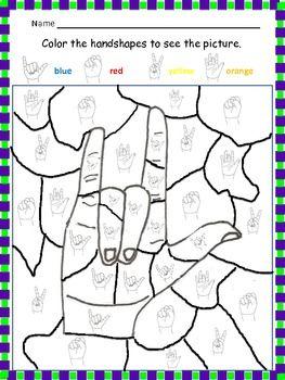 ASL Handshape puzzle