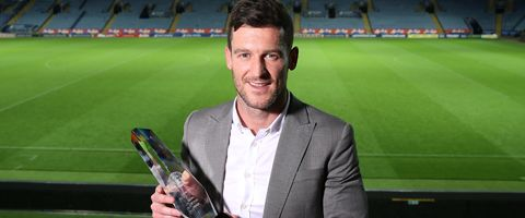 Goal of the Year, which was voted for on the night went to David Nugent, for his incredible strike in the 2-2 draw against Liverpool at Anfield on New Year's Day.  Read more at http://www.lcfc.com/news/article/esteban-cambiasso-named-leicester-city-player-of-the-year-2461984.aspx#iROzDRibAaqxdmaO.99