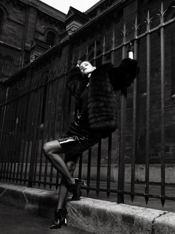 Malgosia Bela for Antidote Magazine The Paris Issue Fall/Winter 2013