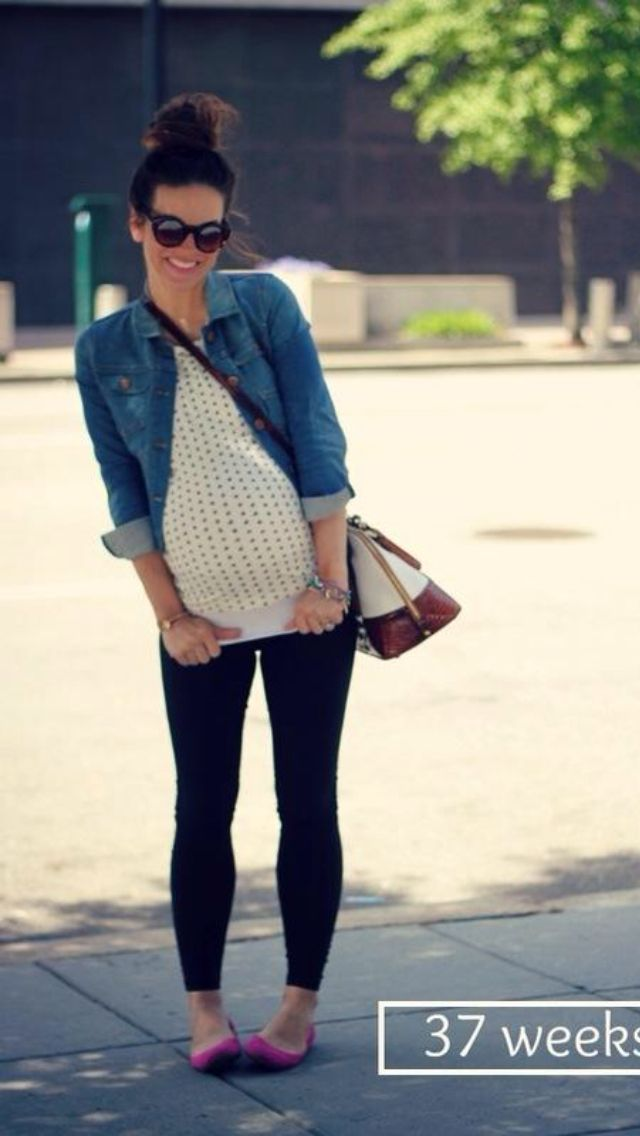 Cute fall maternity outfit