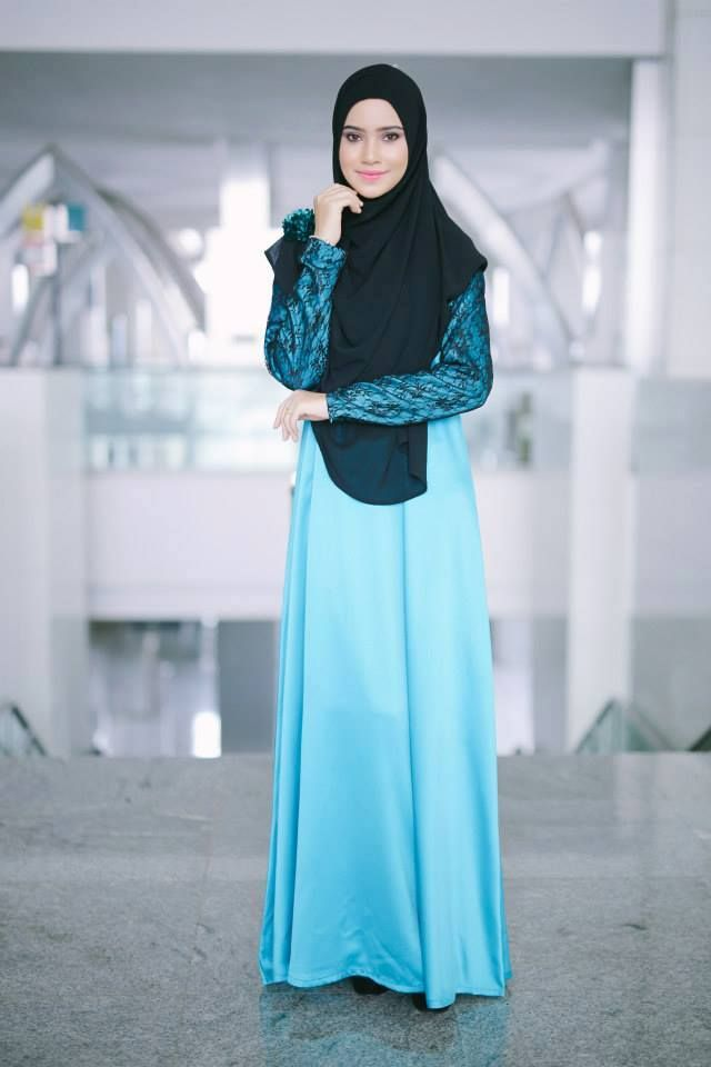 PROMO SET SHAWL+JUBAH  heart emoticon ZARA LACE JUBAH heart emoticon  Code : CHZR LJ (22) Turqouise Price : RM199.00 including postage  Kindly PM us to order, tqvm