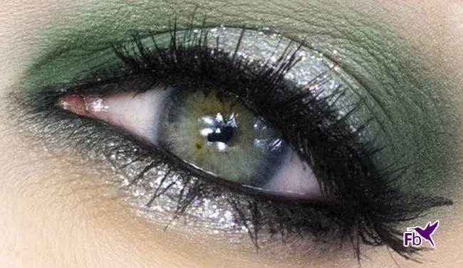 Oog Make-up Voor Groene Ogen